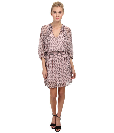 Rebecca Minkoff - Shadow Mini Dress (Hydrangea Pink) Women's Dress