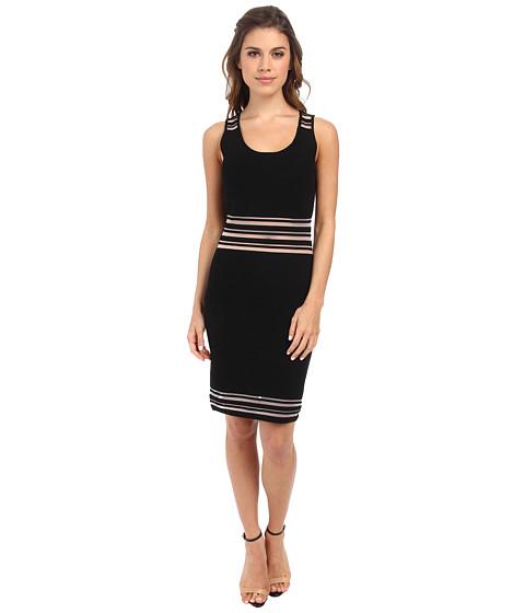 Rebecca Minkoff - Mika Dress (Black) Women