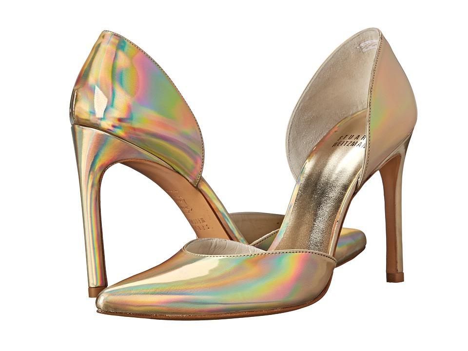 Stuart Weitzman Bridal & Evening Collection - Twotimer (Cava Iris Specchio) High Heels
