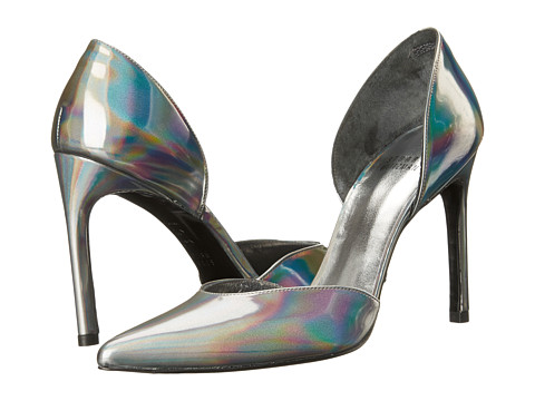 Stuart Weitzman Bridal & Evening Collection - Twotimer (Pewter Iris Specchio) High Heels
