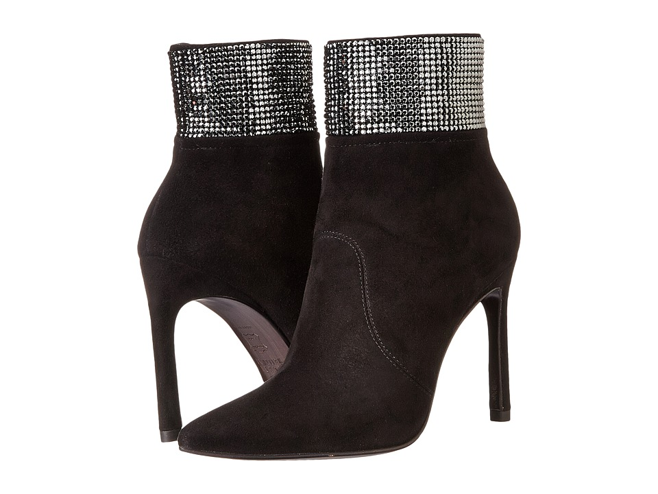 Stuart Weitzman Highbeams (Black Suede) Women