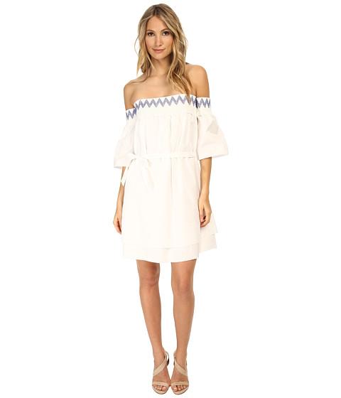 Rebecca Minkoff - Cleo Dress (Chalk) Women's Dress