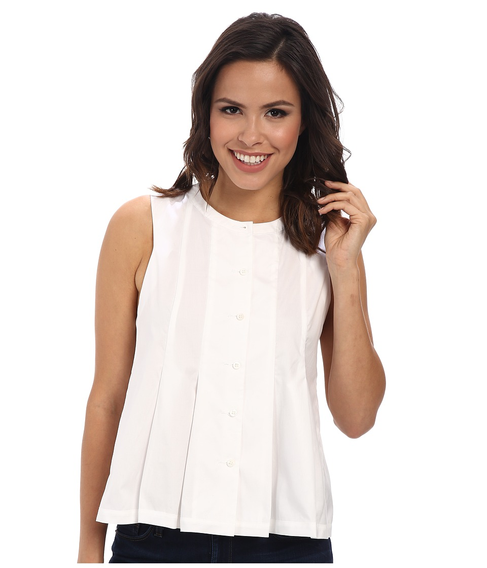 Rebecca Minkoff - Kate Top (Chalk) Women's Clothing