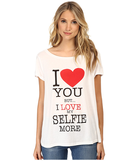Rebecca Minkoff - Selfie T-Shirt (Multi) Women's T Shirt