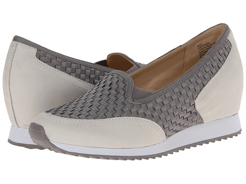 Nine West - Taneel (Taupe Multi Fabric) Women's Slip on Shoes