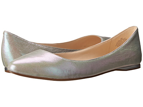 Nine West - SpeakUp (Silver Metallic) Women's Dress Flat Shoes