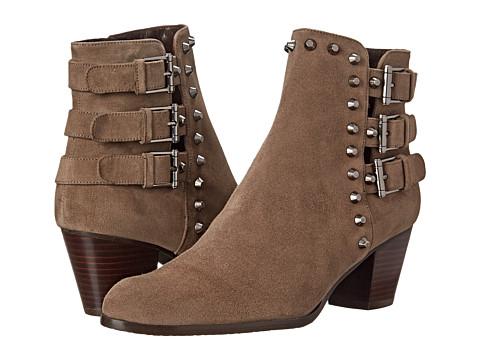Stuart Weitzman - Kickstart (Praline Suede) Women's Dress Zip Boots