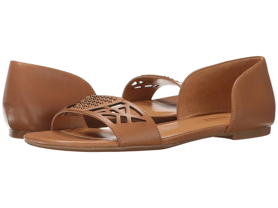 Nine West - Slowdown (Natural Leather) Women's Sandals