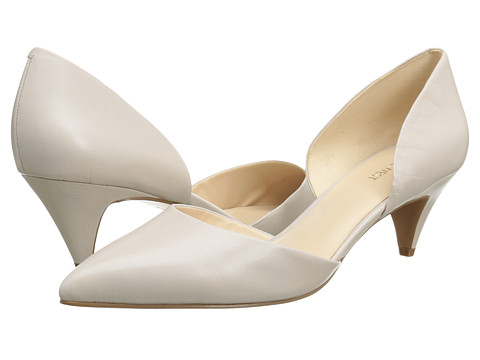 Nine West - Chaching (Light Grey Leather) Women