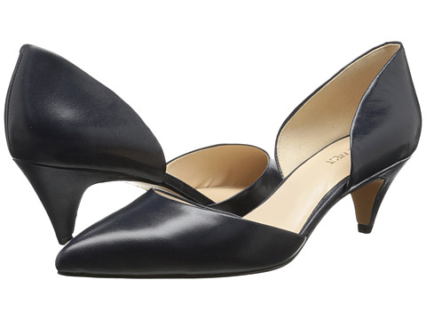 Nine West - Chaching (Navy Leather) Women