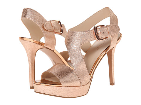 Nine West - Saynomore (Pink Metallic) High Heels