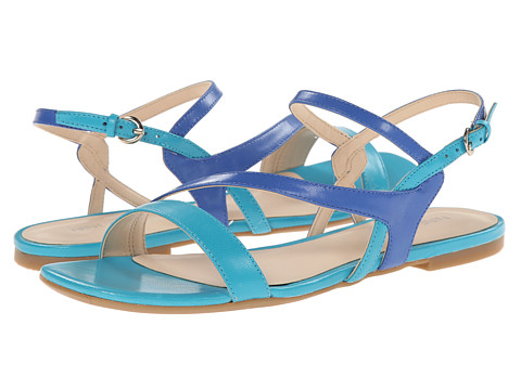 Nine West - Safety (Turquoise/Blue Leather) Women