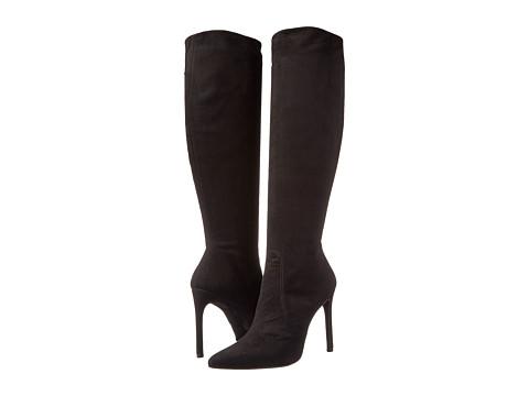 Shop Stuart Weitzman online and buy Stuart Weitzman Hypnotic Black Suede Womens Shoes online