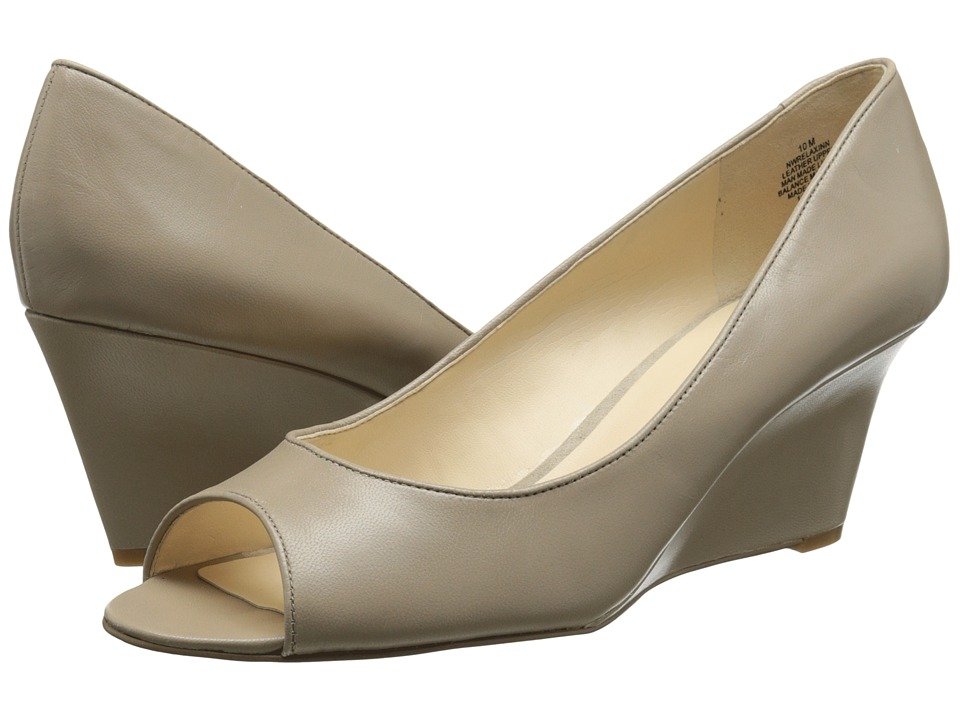 Nine West - Relaxinn (Medium Taupe Leather) Women's Wedge Shoes
