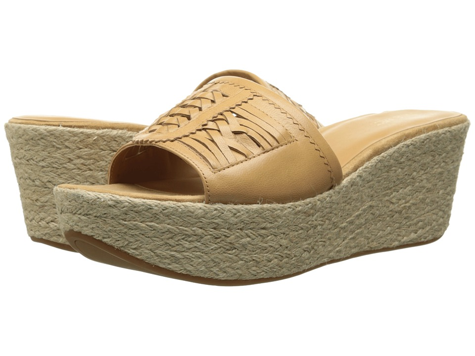Nine West - Raptor (Natural Leather) Women's Wedge Shoes