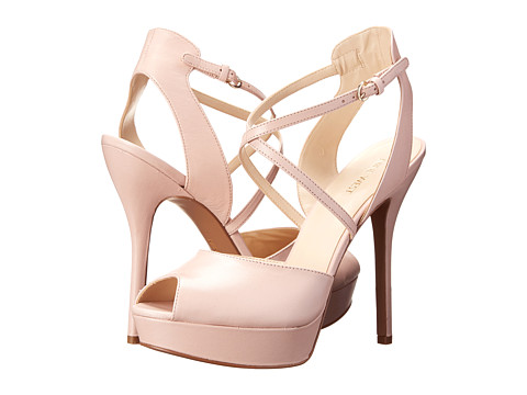 Nine West - Rainyday (Pink Leather) High Heels