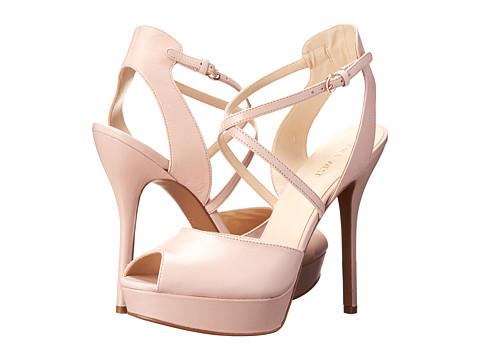 Nine West - Rainyday (Pink Leather) High Heels
