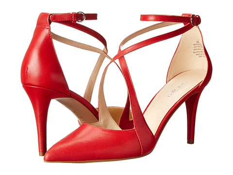 Nine West - Peacesign (Red Leather) High Heels