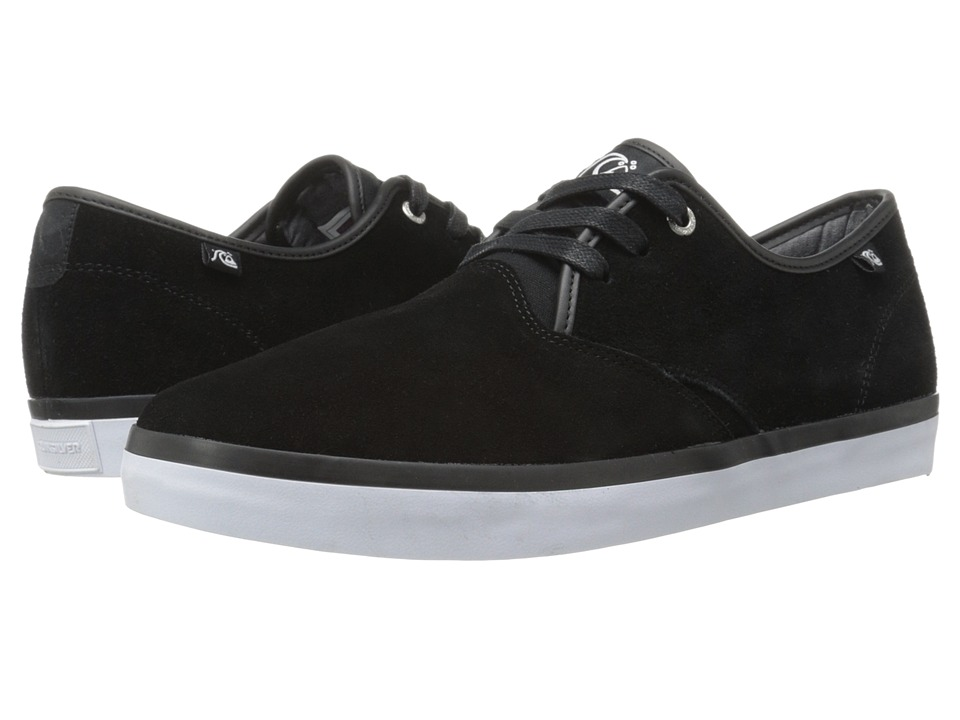 Quiksilver - Shorebreak Suede (Black/Black/White) Men