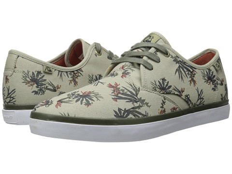 Quiksilver - Shorebreak Print (Tan/Pattern) Men's Lace up casual Shoes