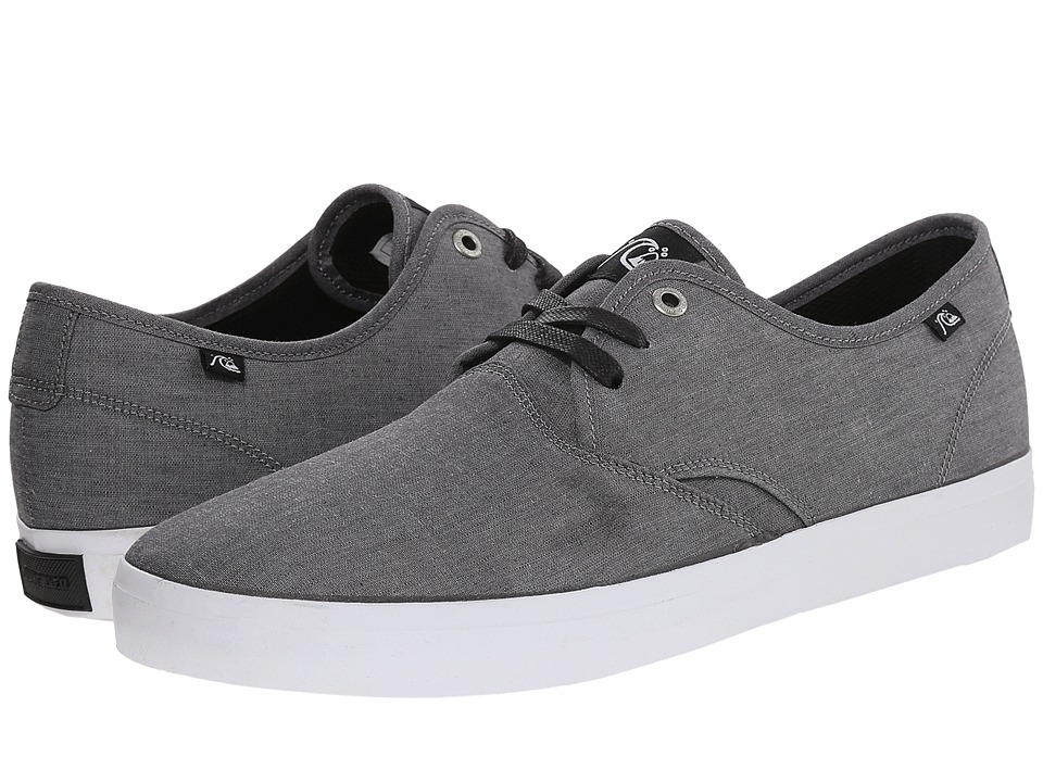 Quiksilver - Shorebreak Print (Grey/Grey/White) Men's Lace up casual Shoes