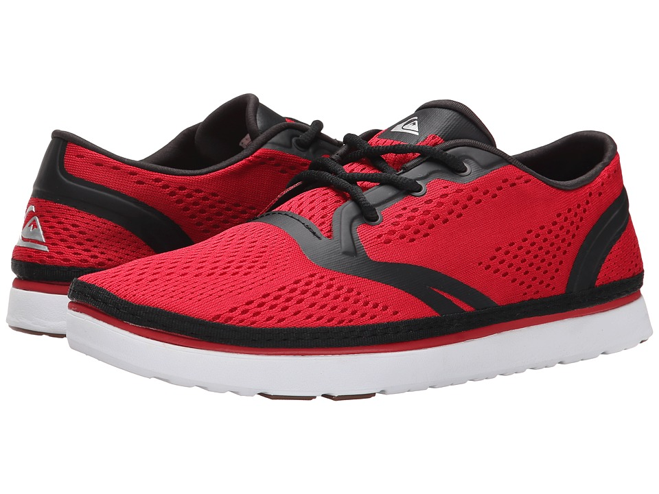 Quiksilver - AG47 Amphibian Shoe (Red/Black/White) Men