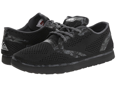 Quiksilver - AG47 Amphibian Shoe (Black/Black/Grey) Men