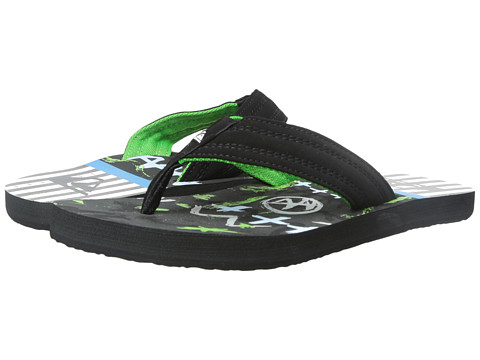 Quiksilver - Basis (Grey/Blue/White) Men's Sandals