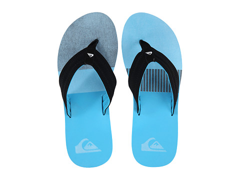 Quiksilver - Basis (Blue/Grey/Blue) Men's Sandals