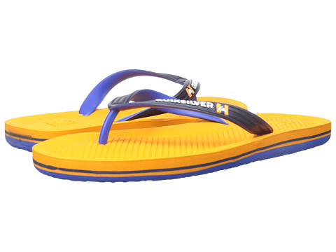 Quiksilver - Haleiwa (Blue/Blue/Orange) Men's Sandals