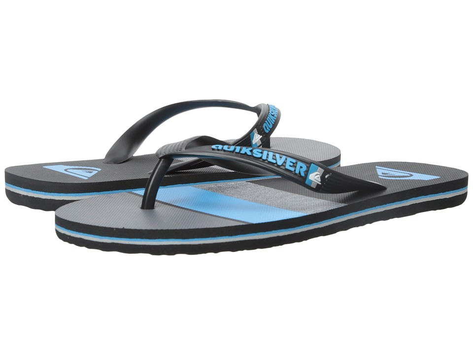 Quiksilver - Molokai Sunset '15 (Black/Blue/Grey) Men's Sandals