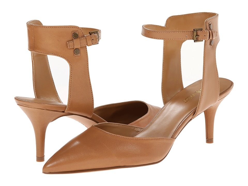 Nine West - Moveover (Natural Leather) Women's 1-2 inch heel Shoes