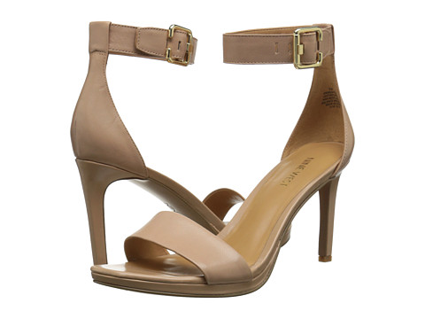Nine West - Meantobe (Light Natural Leather) Women's 1-2 inch heel Shoes