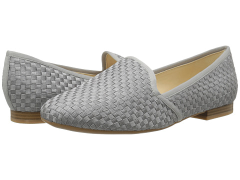 Nine West - Lobster (Grey/Grey Fabric) Women's Slip on Shoes