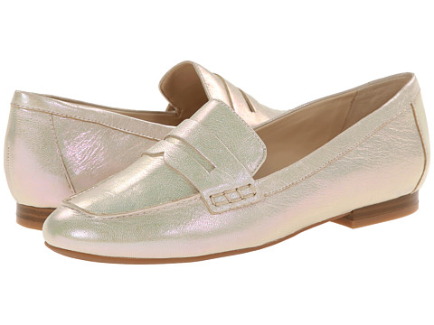 Nine West - Linear (Gold Metallic) Women's Slip on Shoes