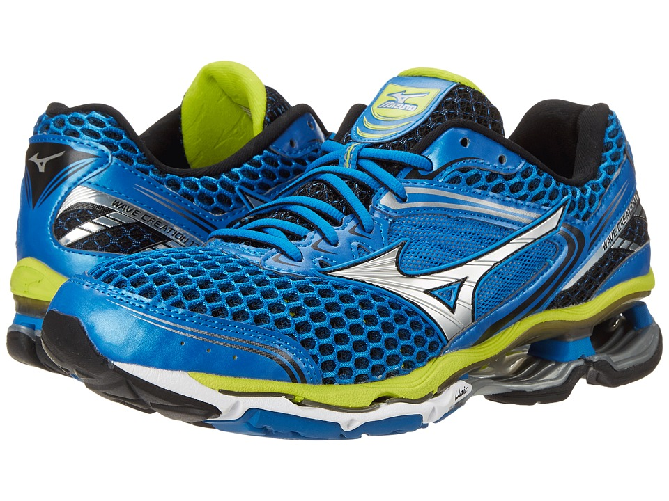 Mizuno - Wave Creation 17 (Electric Blue Lemonade/Silver/Lime Punch) Men