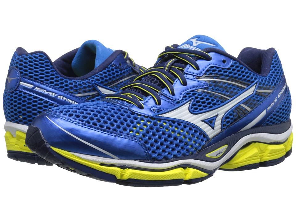 Mizuno - Wave Enigma 5 (Electric Blue Lemonade/White/Bolt) Men's Running Shoes