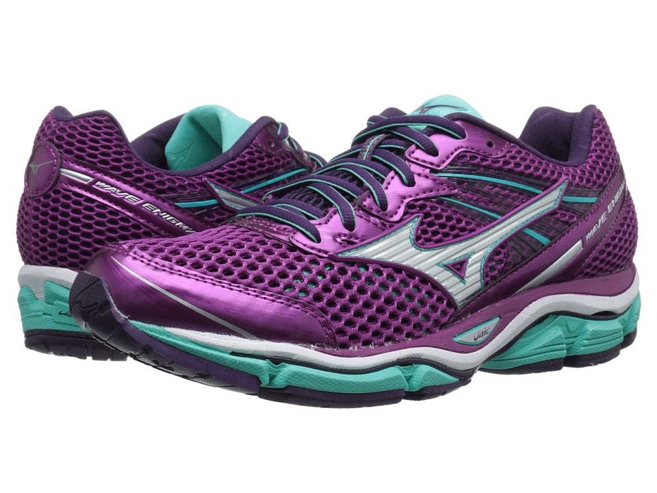 Mizuno - Wave Enigma 5 (Wild Aster/Silver/Waterfall) Women's Running Shoes
