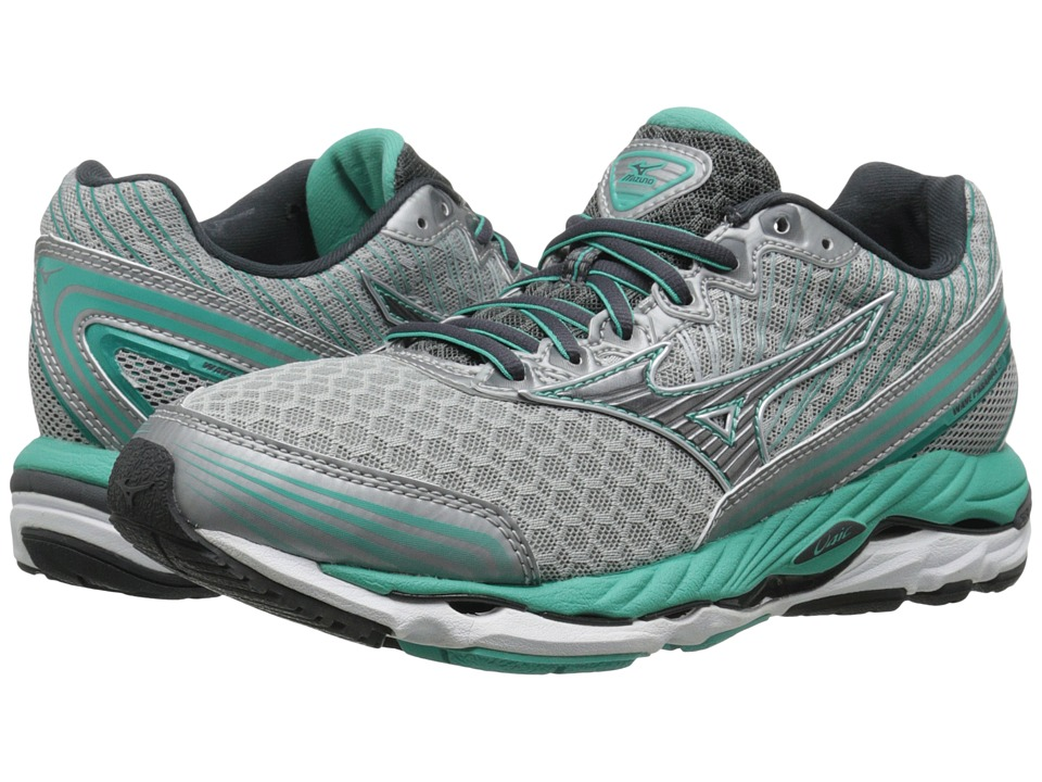 Mizuno - Wave Paradox 2 (Silver/Dark Shadow/Waterfall) Women's Running Shoes