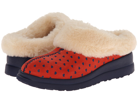 UGG - Dreams (Navy Blue Hearts Suede) Women