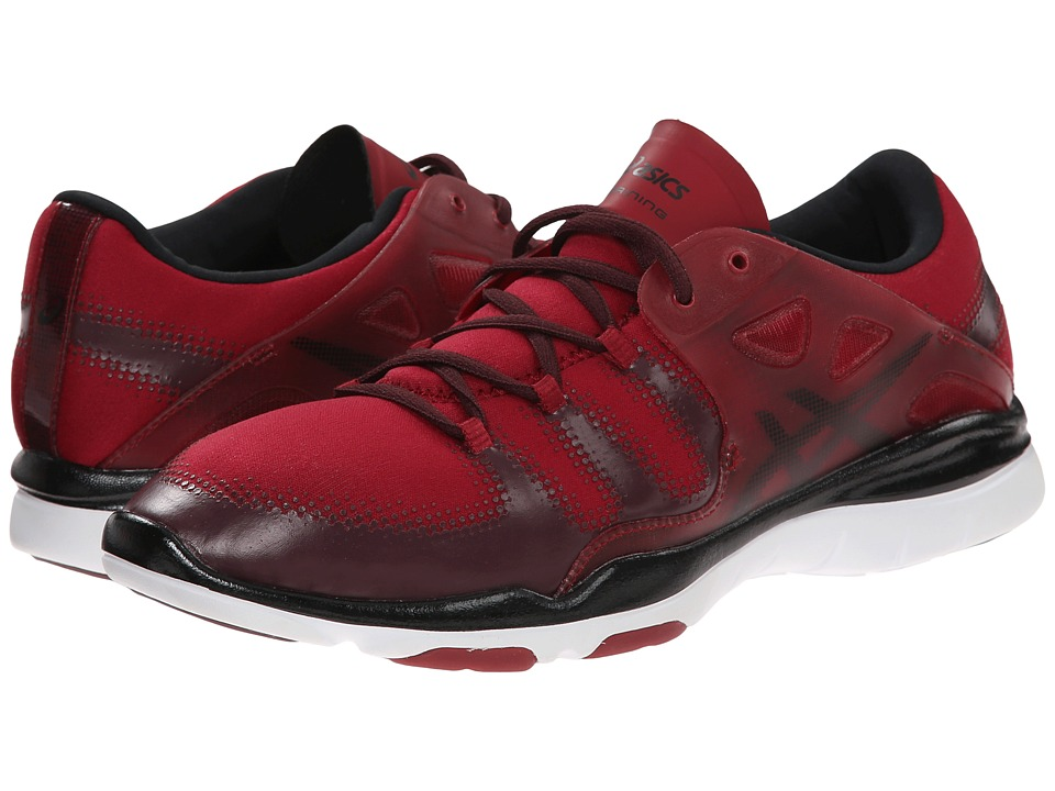 ASICS - GEL-Fit Vida (Warm Red/Onyx/Royal Burgundy) Women's Cross Training Shoes