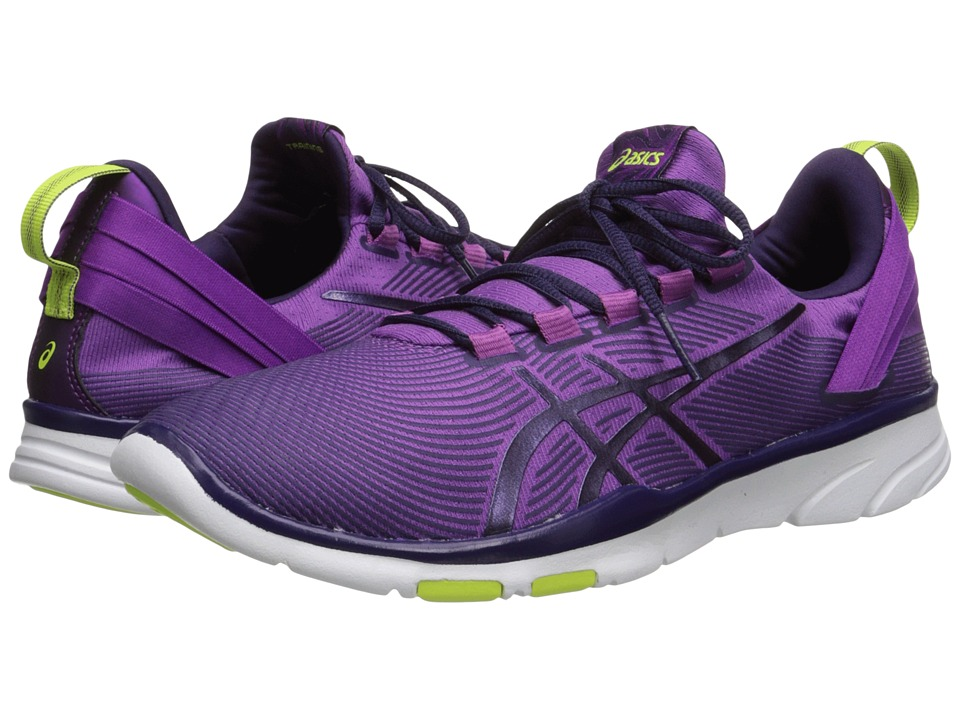 ASICS - Gel-Fit Sana 2 (Grape/Dark Berry/Flash Yellow) Women