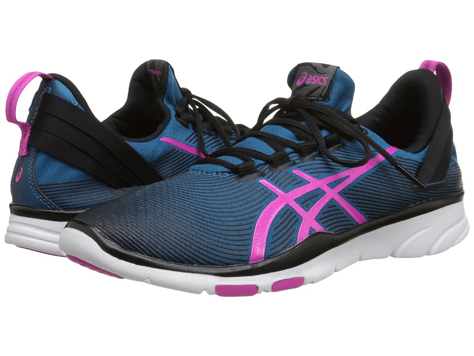 ASICS - Gel-Fit Sana 2 (Mosaic Blue/Pink Glow/Onyx) Women