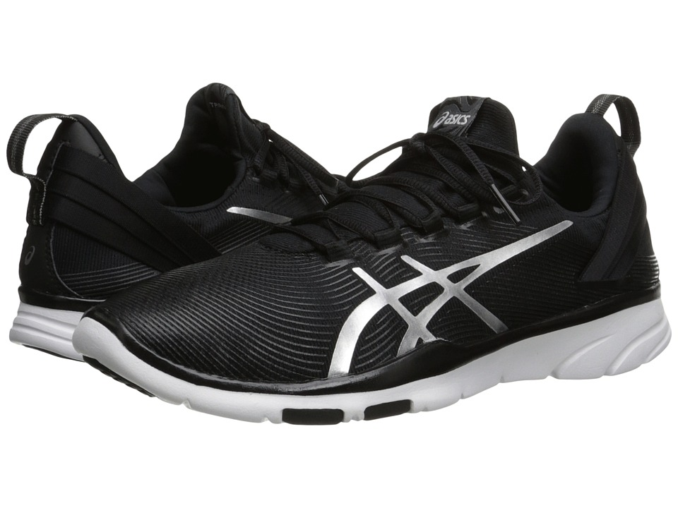 ASICS - Gel-Fit Sana 2 (Black/Silver/White) Women's Cross Training Shoes