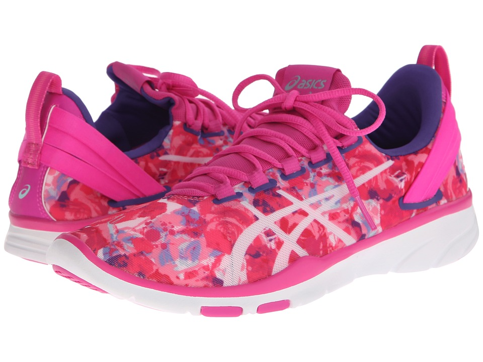 ASICS Gel-Fit Sana 2 (Pink Glow/White/Print) Women