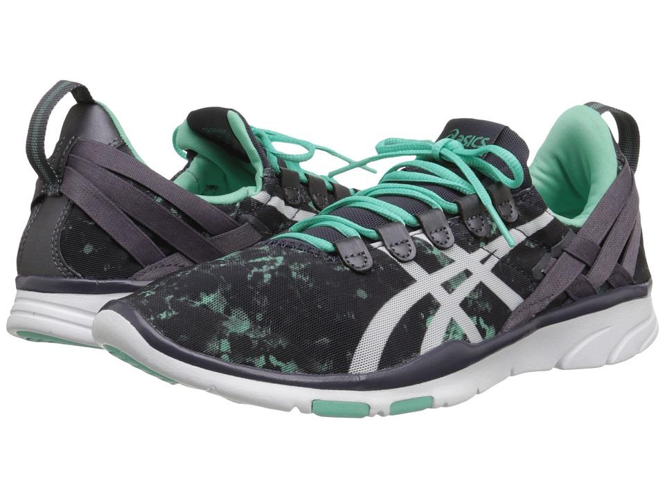 ASICS - GEL-Fit Sana (Aqua Mint/White/Black) Women's Cross Training Shoes