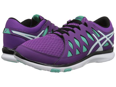 ASICS - GEL-Fit Tempo 2 (Grape/White/Aqua Mint) Women's Cross Training Shoes