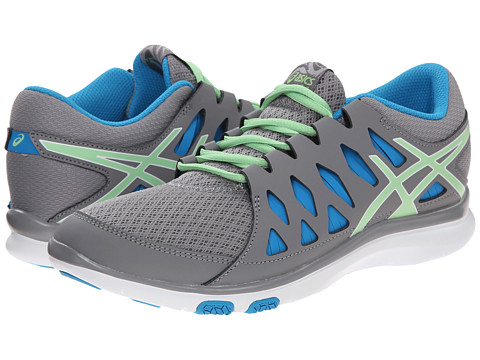 ASICS - GEL-Fit Tempo 2 (Frost/Pistachio/Turquoise) Women's Cross Training Shoes
