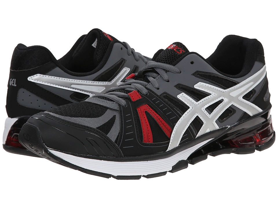 ASICS - GEL-Defiant 2 (Onyx/Silver/Red) Men's Cross Training Shoes