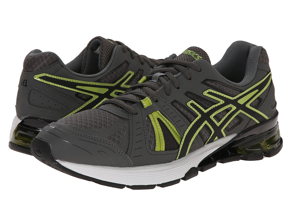 ASICS - GEL-Defiant 2 (Charcoal/Black/Lime Punch) Men's Cross Training Shoes